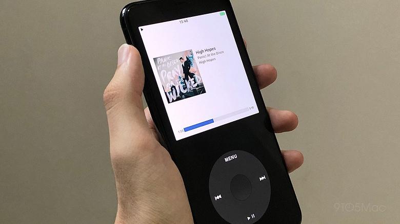 Apple удалила приложение, которое позволяет превратить ваш iPhone в iPod Classic