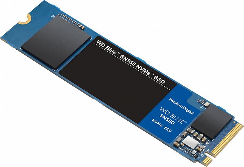1 ТБ за 100 долларов: представлен твердотельный накопитель WD Blue SN550