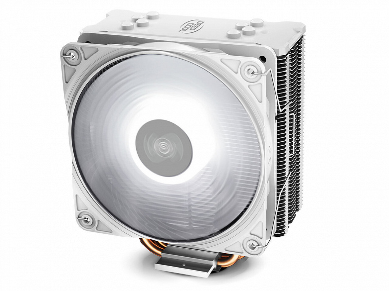 Бюджетную систему охлаждения Deepcool Gammaxx GTE V2 окрасили в белый цвет