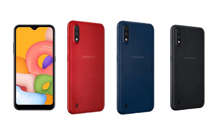 Представлен недорогой смартфон Samsung Galaxy A01