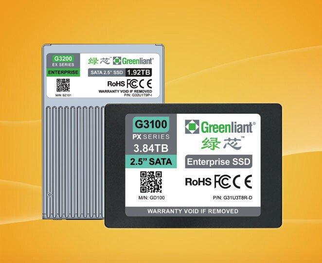 В накопителях Greenliant G3200 объемом до 1,92 ТБ используется флеш-память SLC NAND