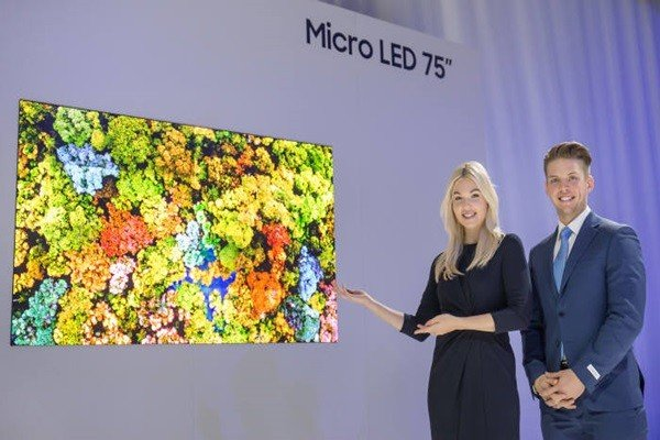 Samsung Electronics планирует инвестировать в завод и оборудование для серийного выпуска панелей micro-LED
