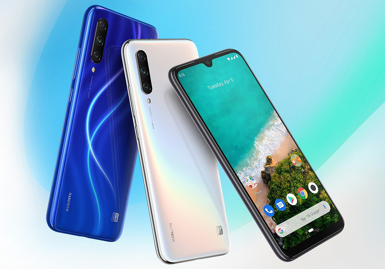 Xiaomi Mi A3, Mi A2 и Mi A2 Lite скоро получат Android 10