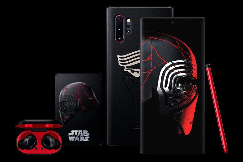 Стартовали продажи уникального Samsung Galaxy Note10+ Star Wars в России