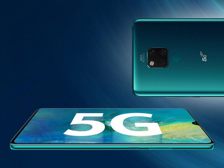 Huawei продаст 100 млн 5G-смартфонов за год только в Китае и возглавит новый рынок