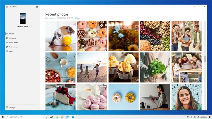 Просматривать фото с подключенного Android-смартфона на Windows 10 станет удобнее