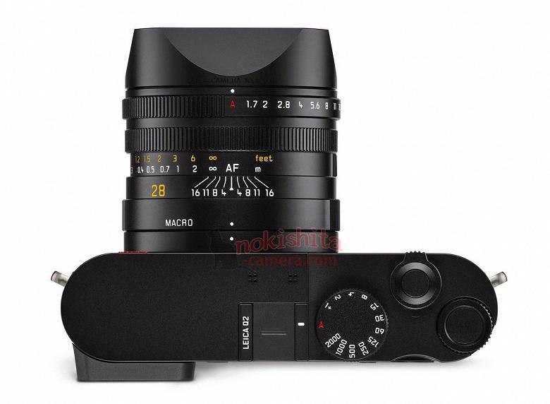 Опубликованы подробные характеристики полнокадровой компактной камеры Leica Q2