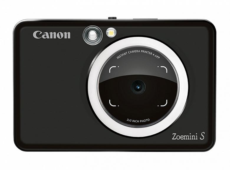 Компания Canon представила две камеры моментальной фотографии — Zoemini C и Zoemini S
