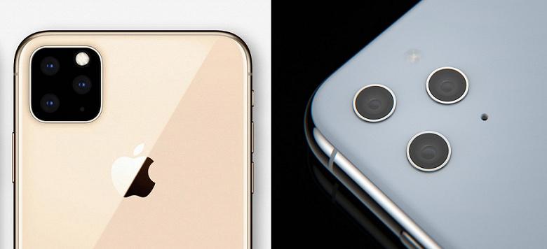 Дизайнер визуализировал тройную камеру iPhone XI с «врезанными» объективами