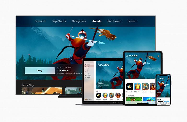 Доступ более чем к сотне уникальных игр. Представлен игровой сервис Apple Arcade с подпиской