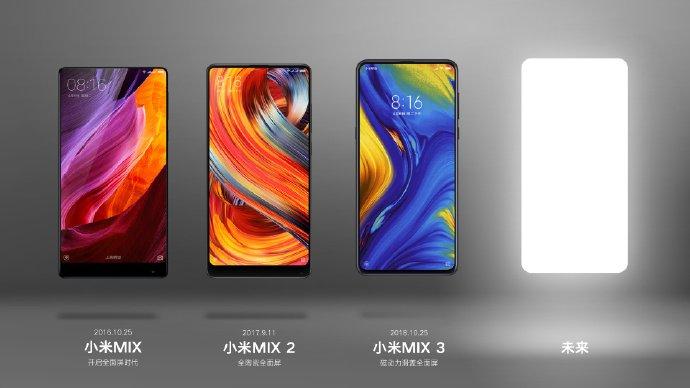 Xiaomi уже дразнит анонсом Xiaomi Mi Mix 4