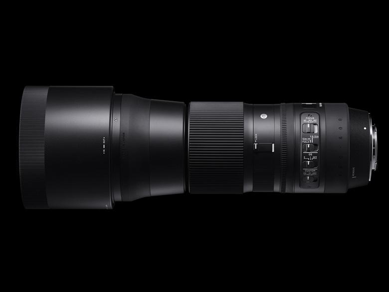 Обновление прошивки влияет на работу оптического стабилизатора объектива Sigma 150-600mm F5-6.3 DG OS HSM | Contemporary с креплением Nikon F