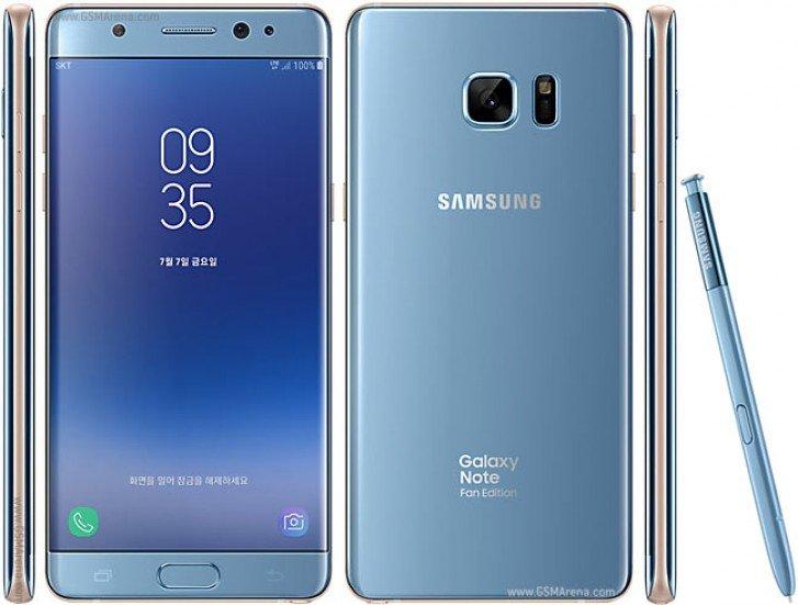 Samsung Galaxy Note FE получил обновление до Android 9.0 Pie