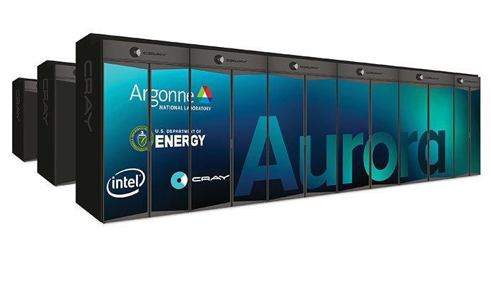 Неанонсированные ускорители Intel Xe лягут в основу Aurora — первого суперкомпьютера класса Exascale