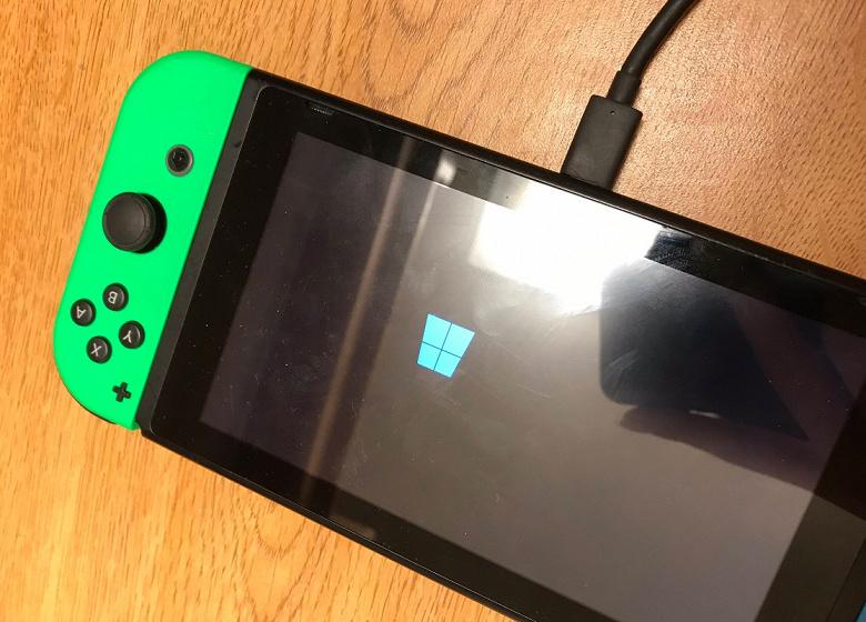 На консоль Nintendo Switch удалось установить Windows 10