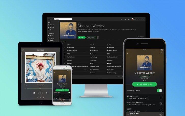 Менее чем за неделю Spotify удалось набрать в Индии 1 миллион подписчиков