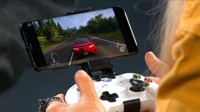 Видео дня: игра Forza Horizon 4 на смартфоне Samsung Galaxy S9+ посредством сервиса Microsoft Project xCloud