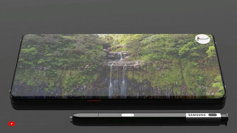 Красивый ролик демонстрирует Samsung Galaxy Note10 без «чёлок» и вырезов, но со встроенной в стилус камерой для селфи
