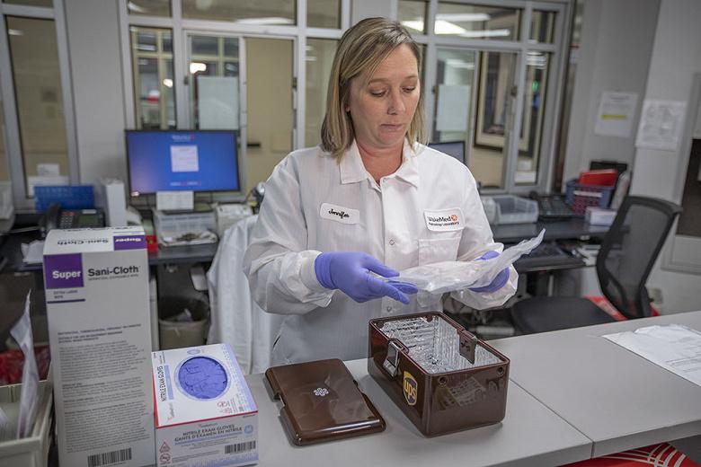 UPS м Matternet начинают регулярную транспортировку медицинских образцов с помощью дронов