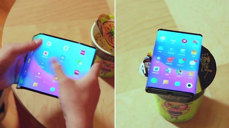 Видео дня: Xiaomi показала собственный складной смартфон во всей красе