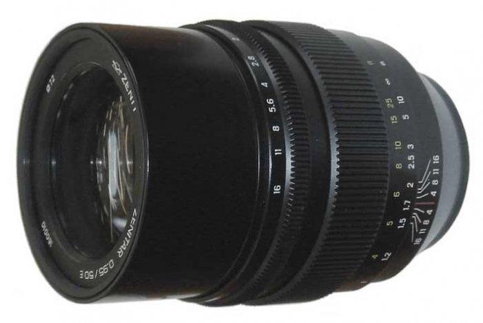 На днях ожидается анонс полнокадрового объектива Zenitar 50mm f/0.95