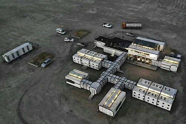 В Китае открылся комплекс Mars Camp, в котором будут имитировать марсианские условия