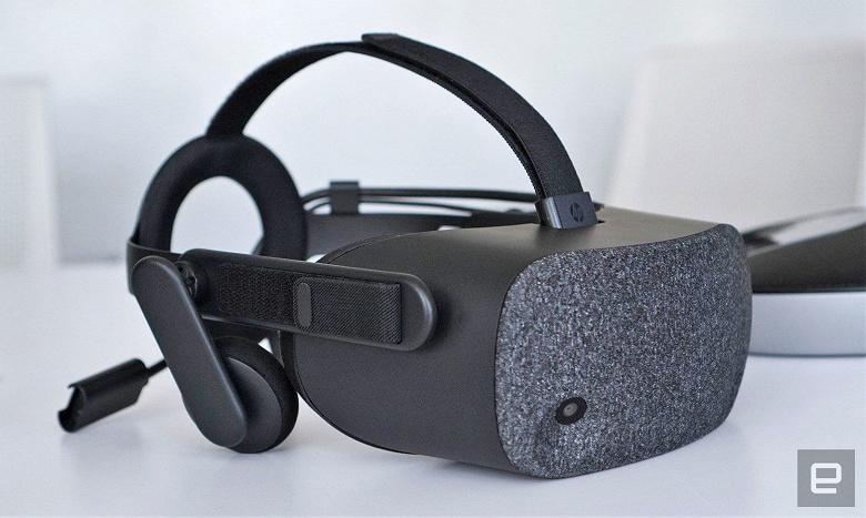 HP Reverb — недешёвая гарнитура виртуальной реальности с экранами высокого разрешения