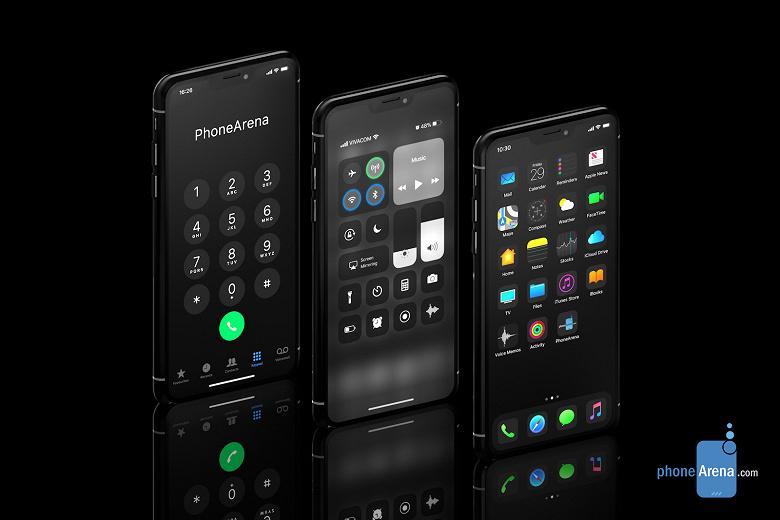 Галерея дня: впечатляющий iPhone XI с тёмной темой iOS 13 во всей красе