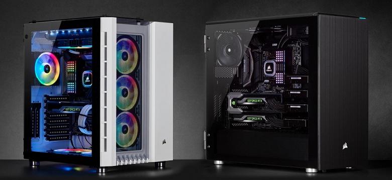 Начались продажи корпусов Corsair Crystal Series 680X RGB и Carbide Series 678C