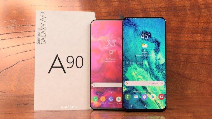 По емкости аккумулятора Samsung Galaxy A90 уступает Galaxy A50 и A70
