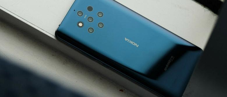 Проблемы с пентакамерой и подэкранным сканером. Nokia 9 PureView ждет выхода обновления