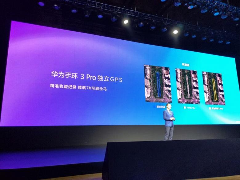 Инфракрасный датчик ЧСС, NFC и GPS: представлены фитнес-браслеты Huawei Band 3 и Band 3 Pro