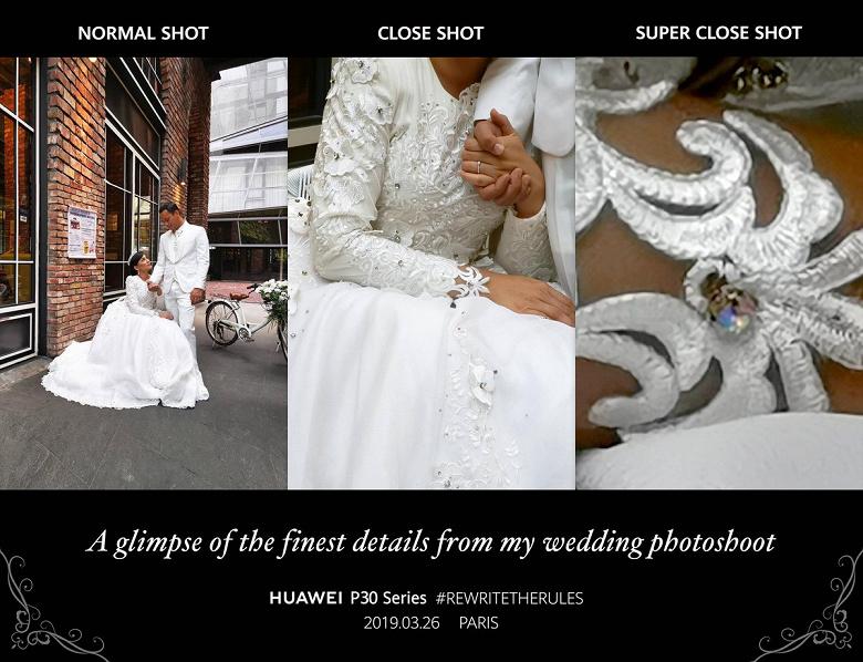 Huawei P30 Pro в руках свадебного фотографа. Новая реклама «суперзума»