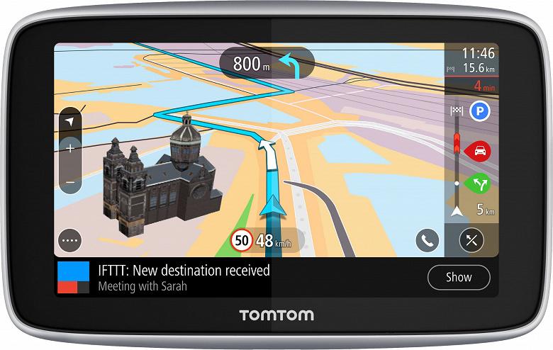 TomTom отмечает продажу 100 миллионов навигаторов выпуском модели TomTom GO Premium X