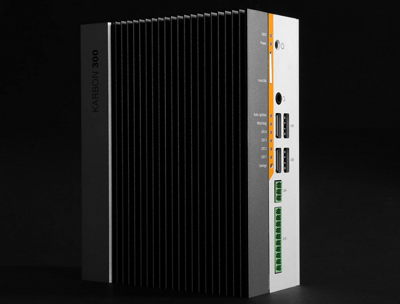 Компактный ПК в усиленном исполнении Logic Supply Karbon 300 предназначен для IoT