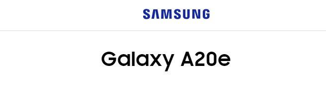 Смартфон Samsung Galaxy A20e впервые замечен на официальном сайте Samsung