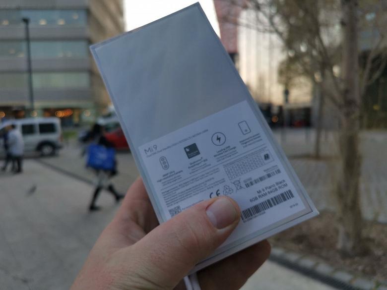 Живые фото Xiaomi Mi 9 Global Version подтверждают, что смартфон продается в Европе