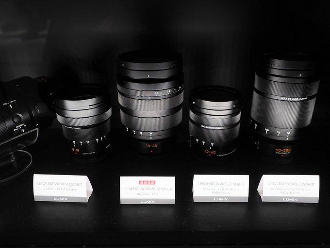 Компания Panasonic показала объектив Leica DG Vario-Summilux 10-25mm f/1.7 системы Micro Four Thirds