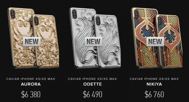 Идеальный подарок для женщин на 8 марта. Caviar представила смартфоны iPhone XS и XS Max под названиями Аврора, Одетта и Никия