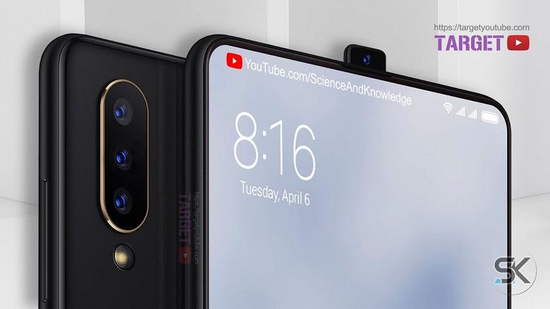 Никаких вырезов и отверстий. Огромный смартфон Xiaomi Mi Note 4 получит выдвижную камеру