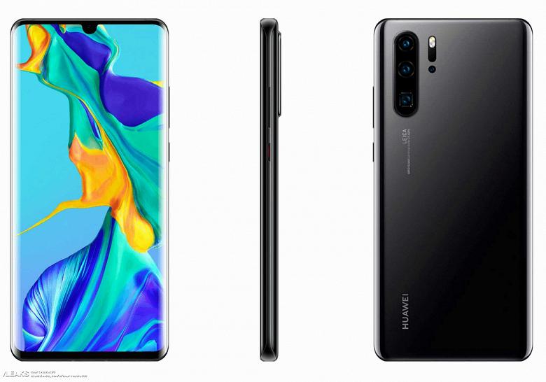 Смартфоны Huawei P30 и P30 Pro будут оснащаться экранами Samsung
