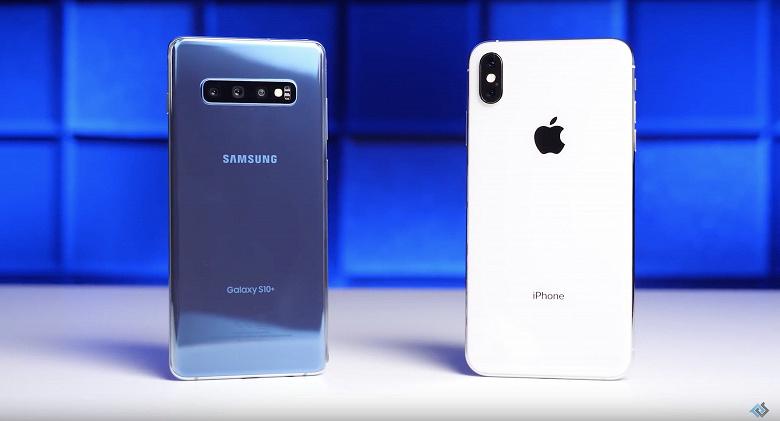 Это провал. Samsung Galaxy S10+ проиграл iPhone XS Max в сравнительном дроп-тесте