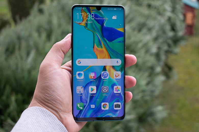 В смартфоне Huawei P30 Pro используются панели AMOLED производства LG Display и BOE