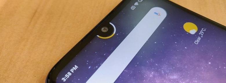 Полезное приложение для всех смартфонов с каплевидным вырезом. Программа Notch Pie выводит индикатор заряда аккумулятора вокруг фронтальной камеры