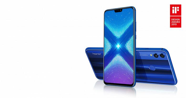 Honor 8X стал самым продаваемым смартфоном на крупнейшем рынке
