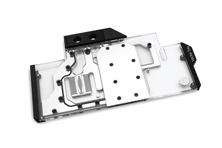 Водоблоки EK-Vector Trio RTX предназначены для 3D-карт MSI Gaming X Trio RTX
