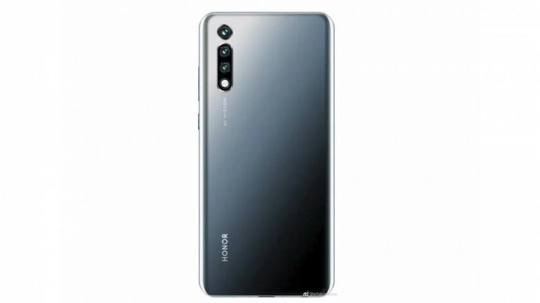 Камерофон Honor 20 Pro в трех цветах показан на новом изображении