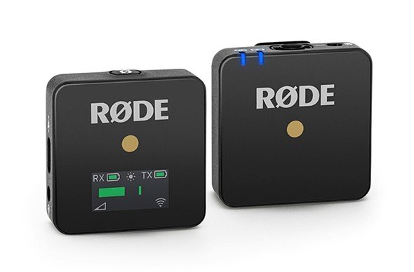 Производитель называет микрофонную систему Rode Wireless GO «самой маленькой в мире»