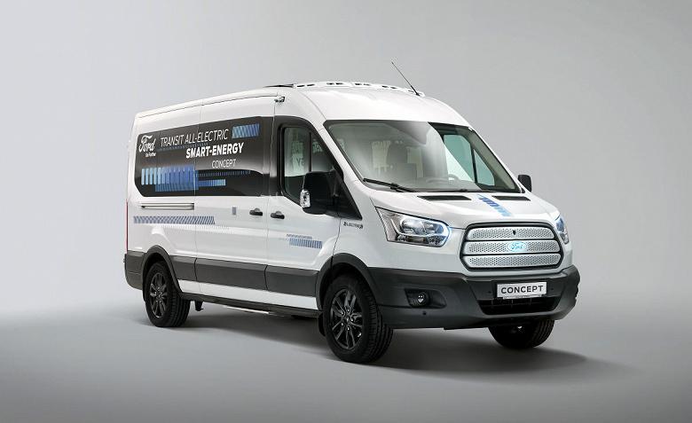 Разработчики концептуального электромобиля Ford Transit Smart Energy нашли новый подход к увеличению пробега без подзарядки