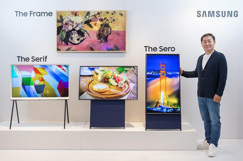 Создатели телевизора Samsung Sero учли распространенность «вертикалок»